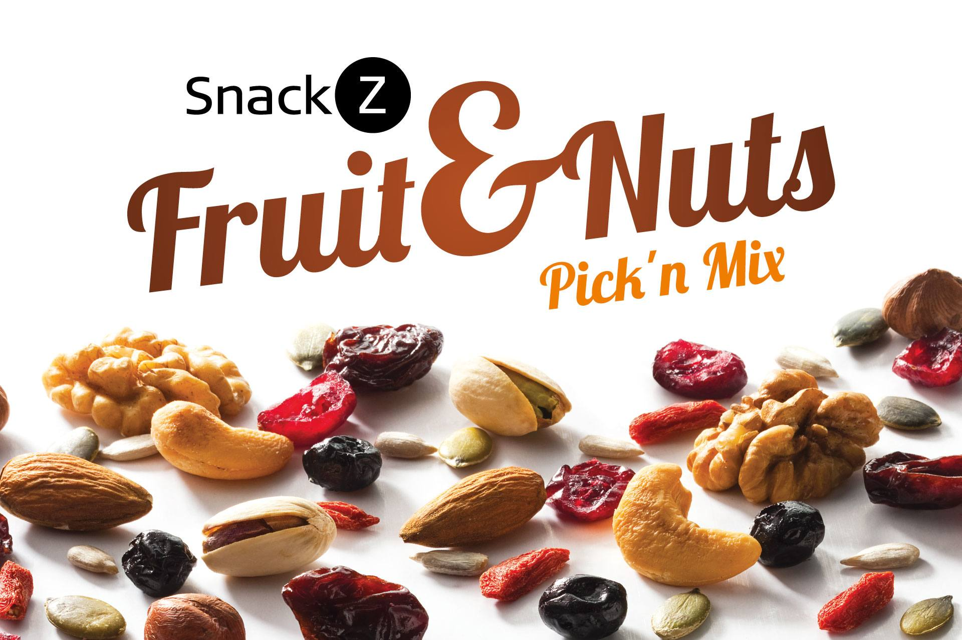 SnackZ Fruit & Nuts Pick 'n Mix